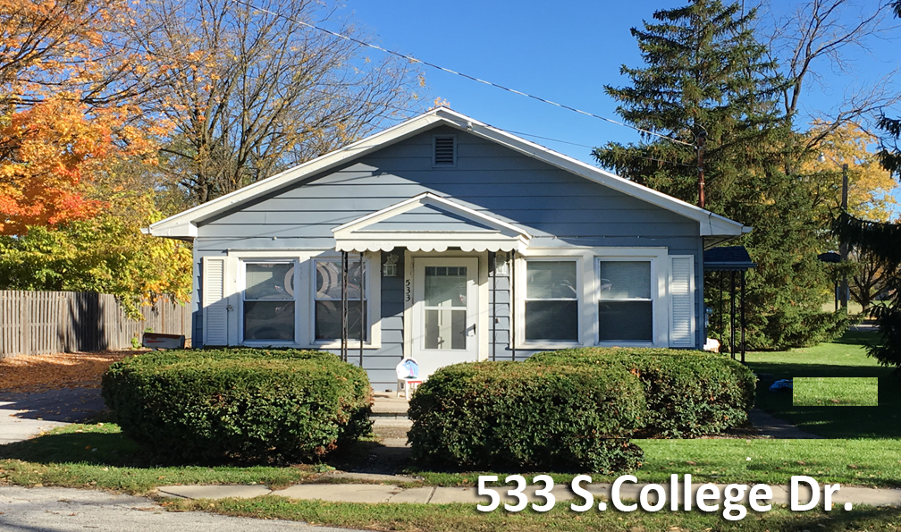 533 South College Drive–3 Bedroom House